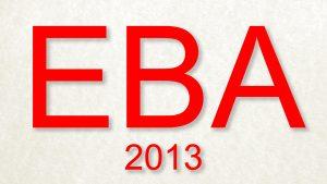 EBA-2013